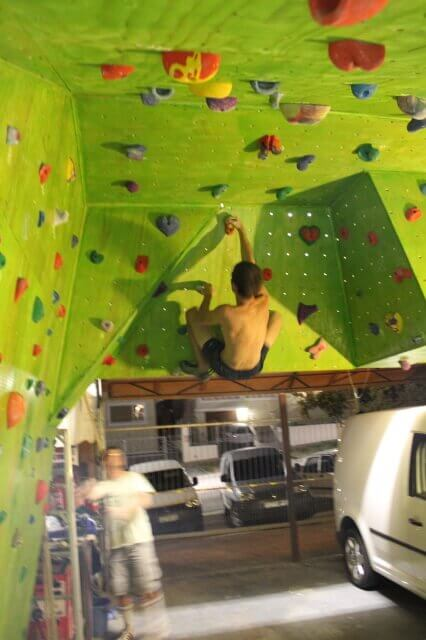 Home Climbing Walls Garage