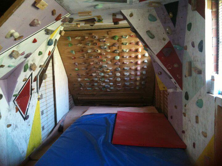 home climbing walls basement rh indoorclimbing com Basement Climbing Training basement climbing wall